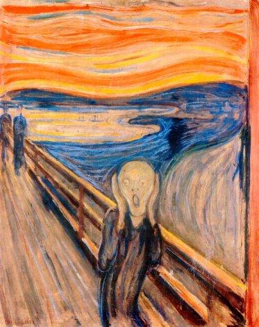 El grito el cuadro m s angustioso del arte contemporaneo for Caracteristicas del contemporaneo