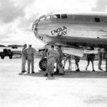 El Enola Gay y su tripulación en Hiroshima