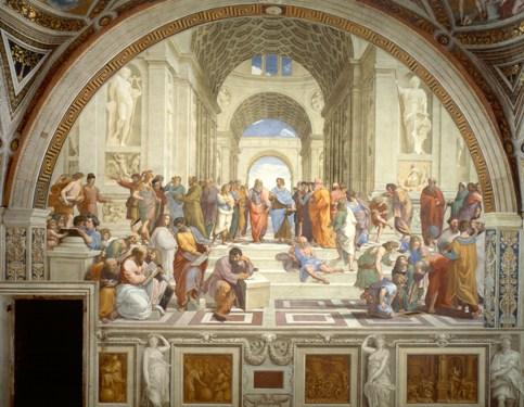 La Escuela de Atenas, Rafael