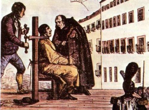 Historia del Garrote Vil