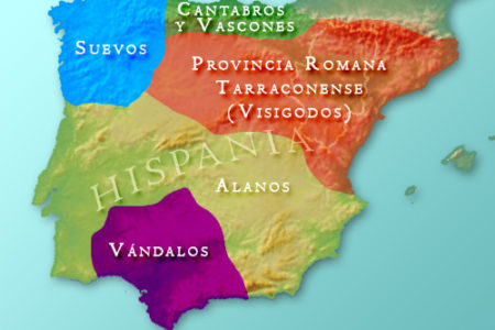 Los Suevos y Visigodos en la Península Ibérica