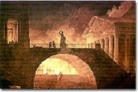 El gran incendio de Roma