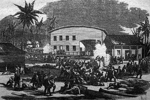La primera invasión estadounidense a Panamá