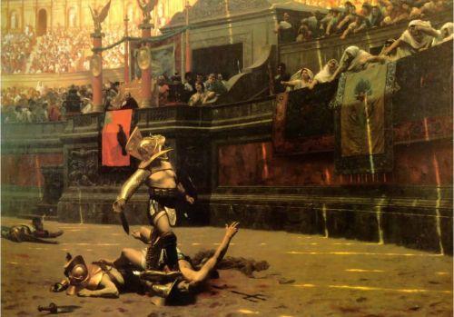 El origen de los gladiadores romanos