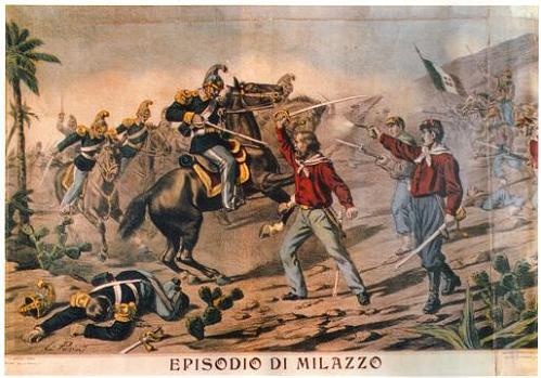 Garibaldi y sus camisas rojas
