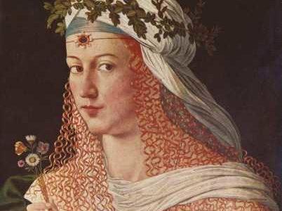 Lucrecia Borgia: la fatalidad de ser una Borgia
