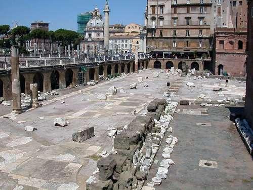 el mercado de Trajano