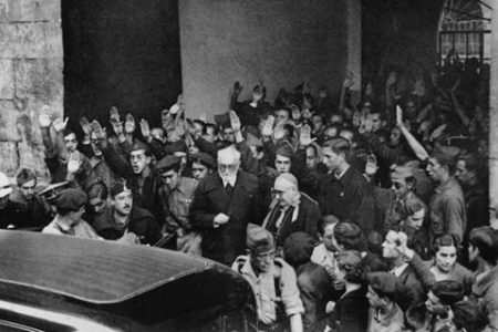 Miguel de Unamuno y su polémico discurso en Salamanca