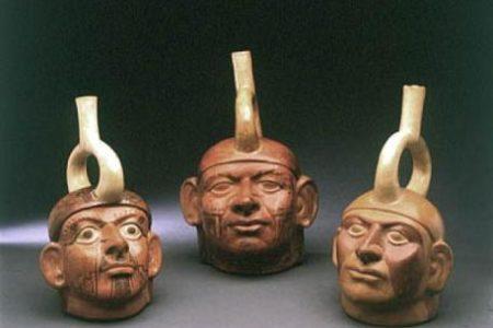 La civilización Mochica, precolombinos del norte de Perú