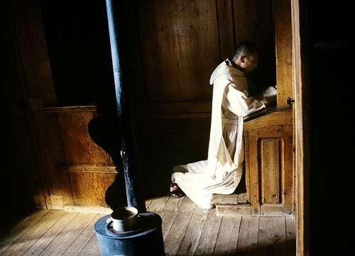 Monjes en la Edad Media
