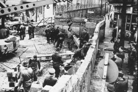 Construcción y caída del Muro de Berlín