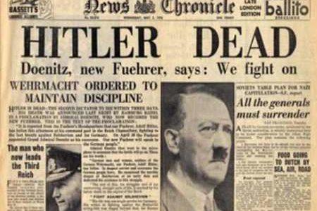 La rendición de Alemania en la Segunda Guerra Mundial
