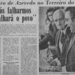 Cuando los gobiernos van a la huelga: Pinheiro de Azevedo