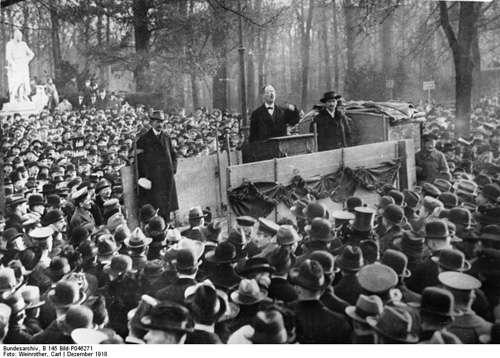 revolucion alemana tras el II Reich