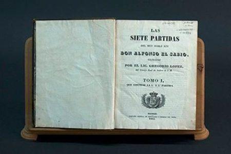 Las Siete Partidas, leyes de la antigua Castilla