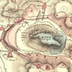 El sitio de Alesia por César, conquista definitiva de la Galia