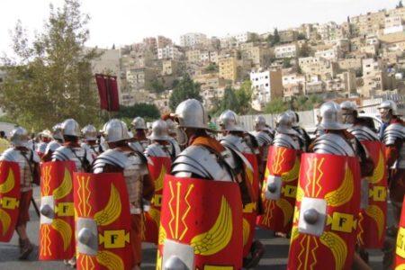 El ejército y los soldados romanos
