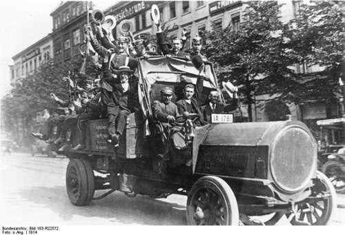 voluntarios en la primera guerra mundial
